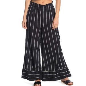 Billabong Wide Leg Striped Pants